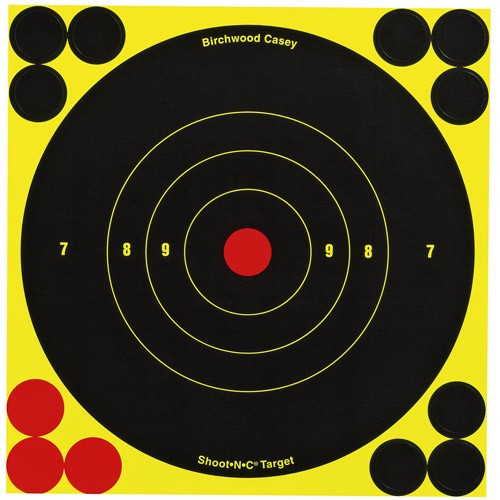 BW Casey Shoot-N-C 6 inch Round Target 60 Sheet Pack B16-60