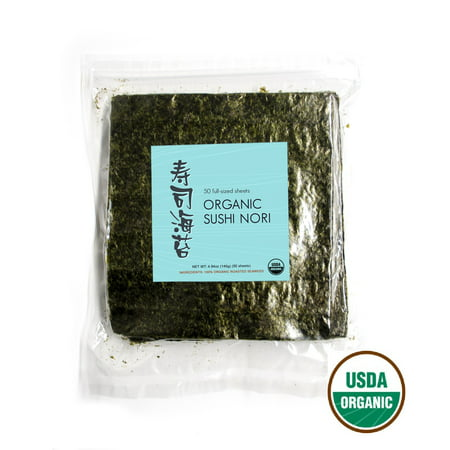 Yamamotoyama Sushi (Kettle and Spoon USDA Organic Premium Sushi Nori, 50)