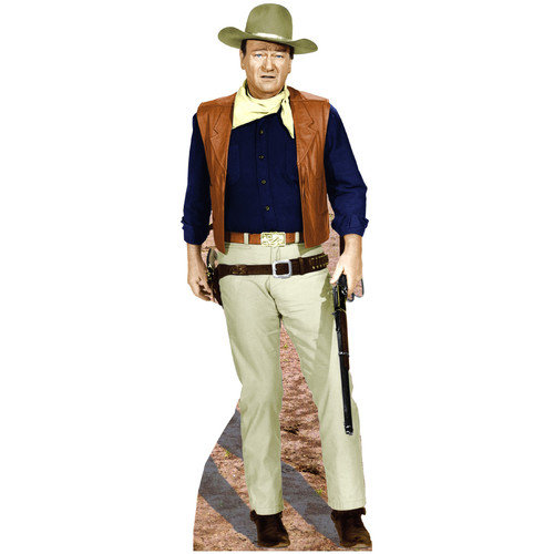 Advanced Graphics Hollywood's Wild West John Wayne - Rifle at Side Cardboard Stand-up