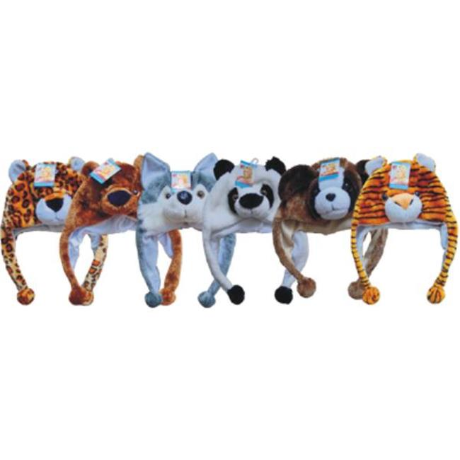 DDI 783219 Plush Animal Hats Case Of 72