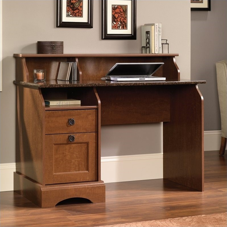 Sauder Graham Hill Desk, Autumn Maple