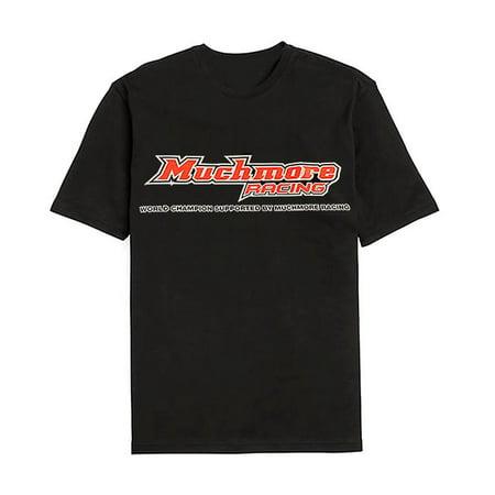 - Integy RC Toy Model Hop-ups MMR-ML-TK18XXXL Muchmore Racing Muchmore Racing Team T-Shirt Black XXXL Size