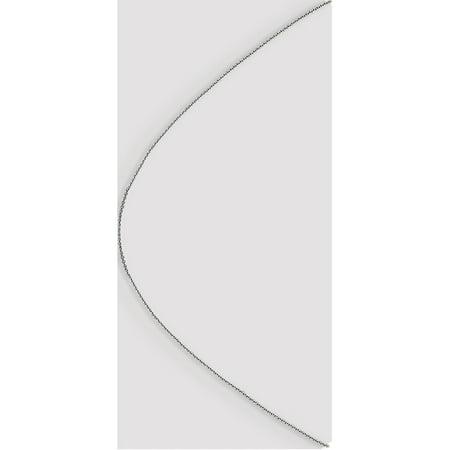 Leslie or blanc 14K .85 mm taille diamant Cha?ne porte-c?bles - image 2 de 5