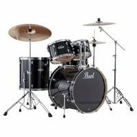 Export 5-Piece Drumset w/ Hardware - Jet Black