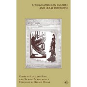 African American Culture and Legal Discourse