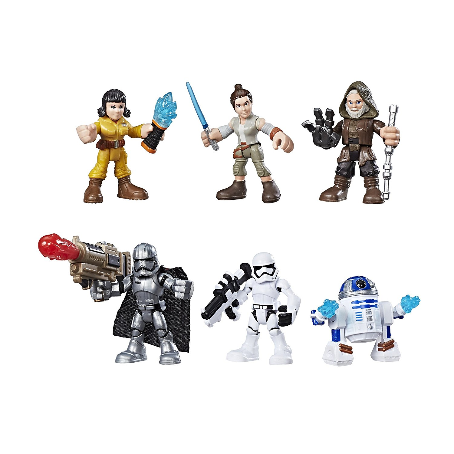 Galactic Heroes Star Wars Resistance VS. First Order Pack, Features 6 characters from Star... by