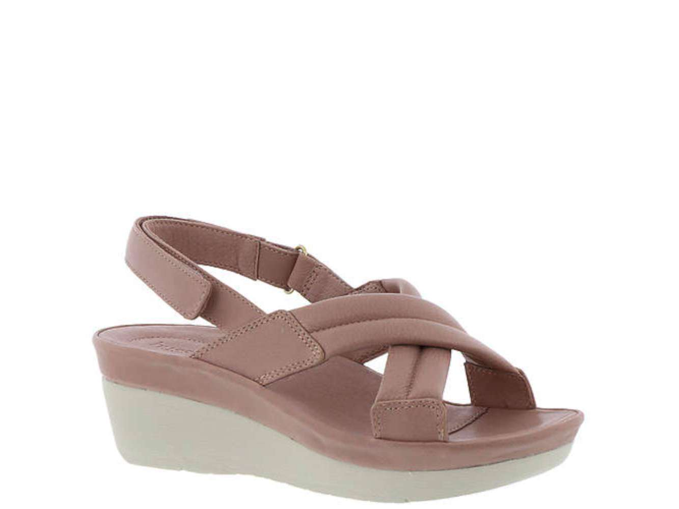 c1b3a81d14a BUSSOLA Womens Goldie Leather Open Toe Casual Slingback ...