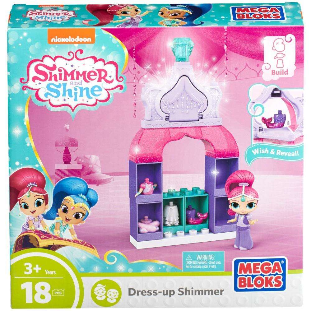 Mega Bloks Nickelodeon Shimmer and Shine, Dress-Up Shimmer by Mega Brands, Inc.