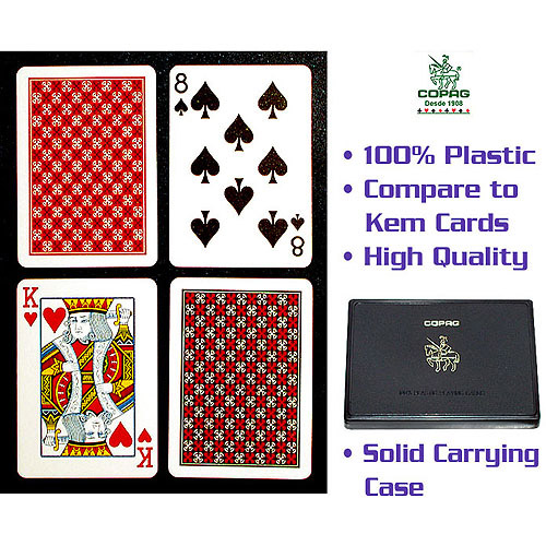 Royal Plastic Playing Cards w//Star Pattern 10-PLASTIC1B One Blue Deck