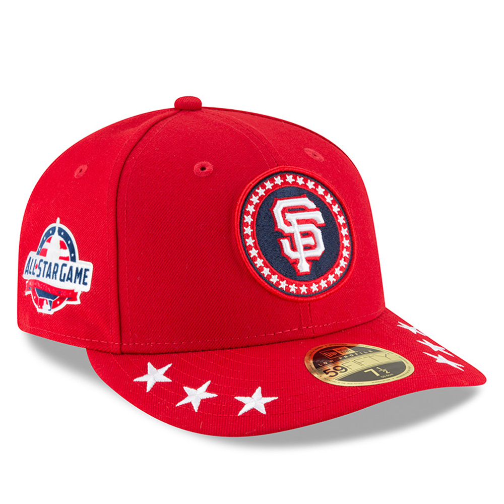 San Francisco Giants New Era 2018 MLB All-Star Workout On-Field Low Profile 59FIFTY Fitted Hat - Red