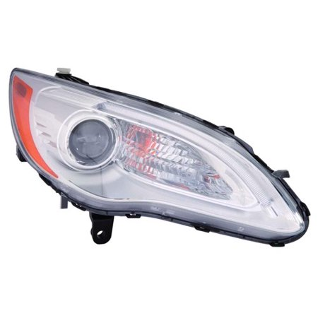 Right Convertible - Go-Parts » 2011 - 2014 Chrysler 200 Front Headlight Headlamp Assembly Front Housing / Lens / Cover - Right (Passenger) Side - (LX Sedan + Limited Convertible + Sedan + Touring Convertible + Sedan))