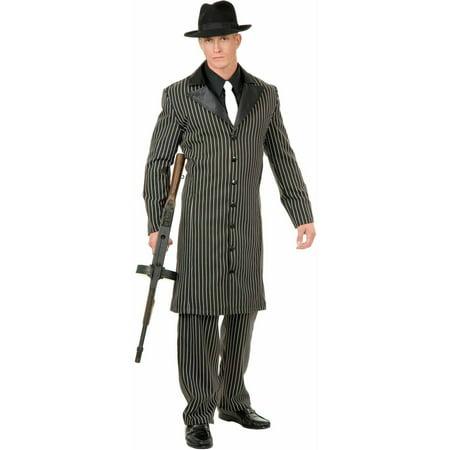 Gangster Suit Long Jacket Men's Adult Halloween Costume