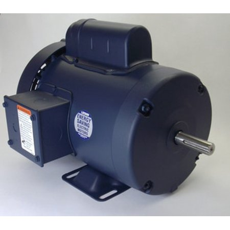 1/2 hp 1725 RPM 56 Frame TEFC 115/208-230V Leeson Electric Motor # (1 2 Hp Electric Motor 1725 Rpm)