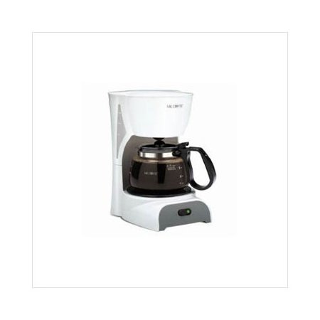 Mr Coffee White Coffee Maker : Mr. Coffee 4-Cup Switch Coffee Maker in White - Walmart.com