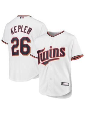 Max Kepler Minnesota Twins Majestic Youth Home Official Cool Base Player Jersey - White