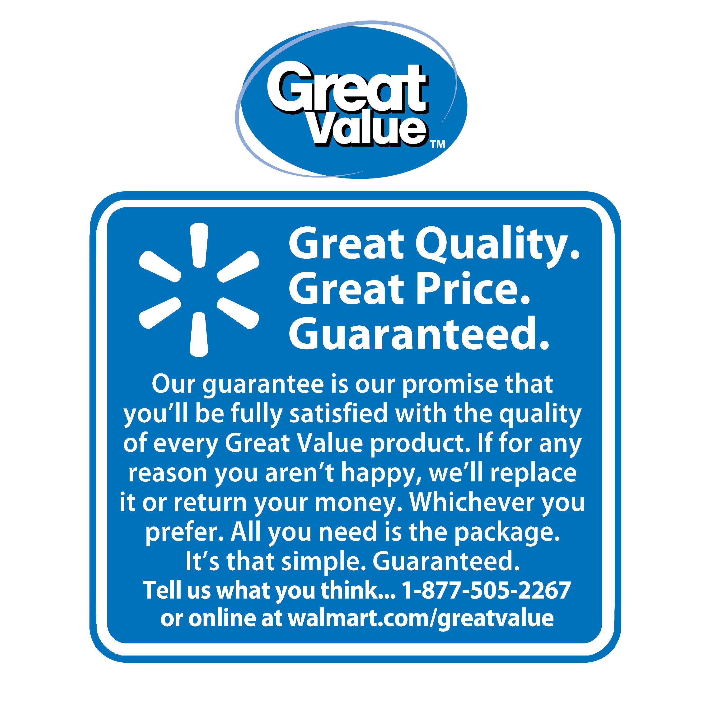 Great Value 100% Pure Beef Patties, 8 lb, 32 Count - Walmart com