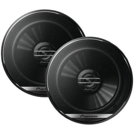 """Pioneer TS-G1620F G-Series 6.5"""" 300-Watt 2-Way Coaxial Speakers"""