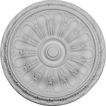 15 3 4 OD x 5 8 P Kirke Ceiling Medallion Fits Canopies up to 3 3 4