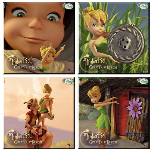 Trend Setters Tinker Bell and the Great Fairy Rescue Glas...