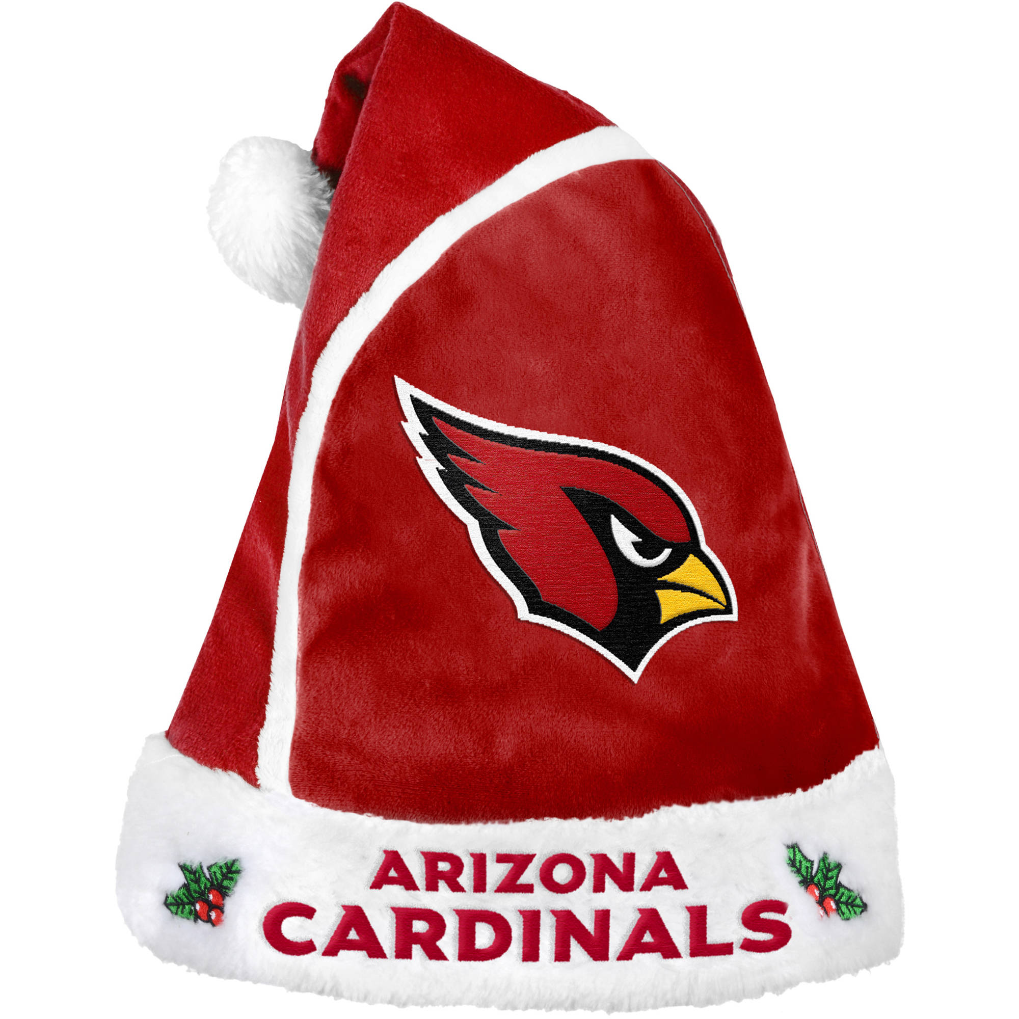 Forever Collectibles NFL 2015 Santa Hat, Arizona Cardinals by Forever Collectibles