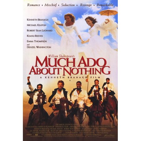 Ado About Nothing Poster (Much Ado About Nothing (1993) 27x40 Movie Poster )