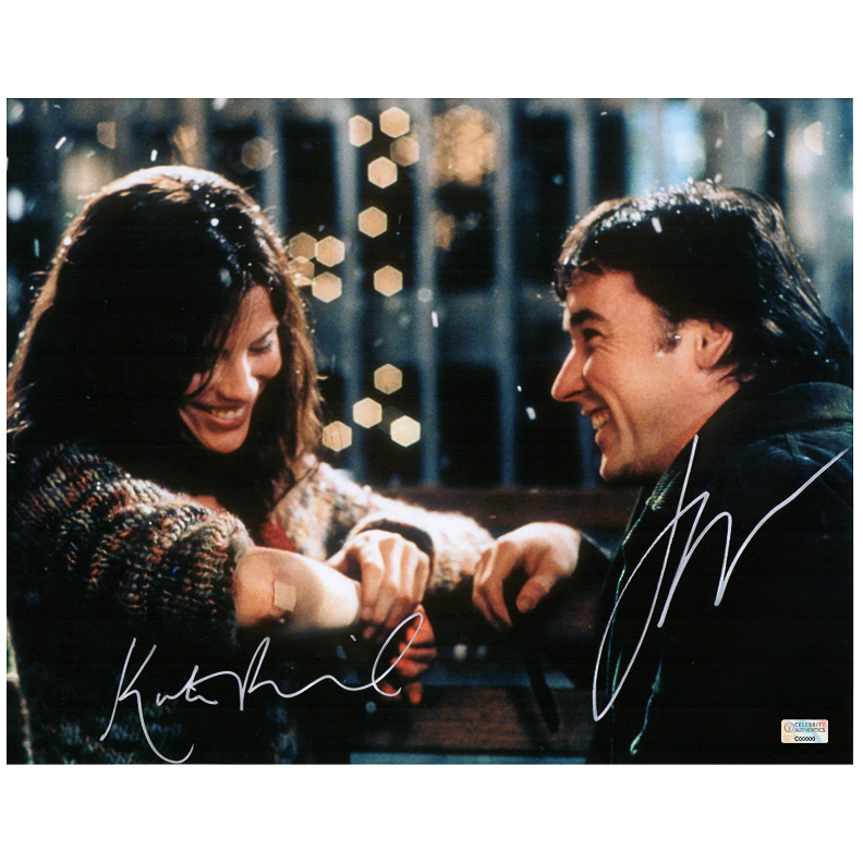 Kate Beckinsale and John Cusack Autographed Serendipity 11x14 Photo