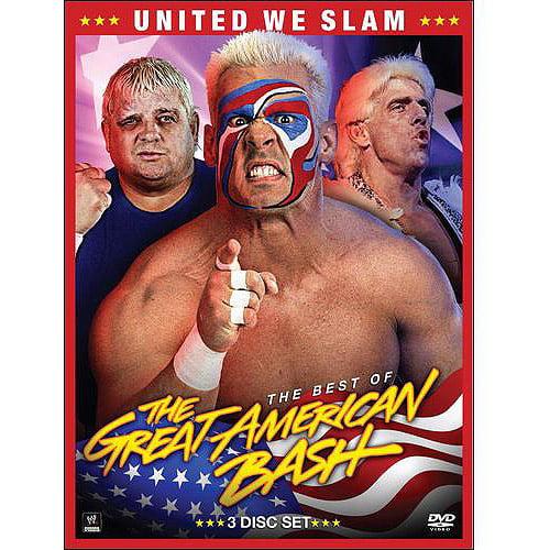 WWE: United We Slam - The Best Of Great American Bash (3-Disc)