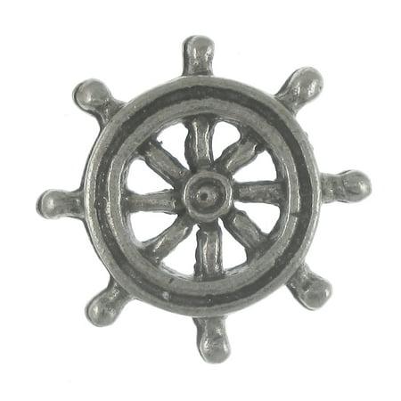 Ship's Wheel Lapel Pin - 25 Count