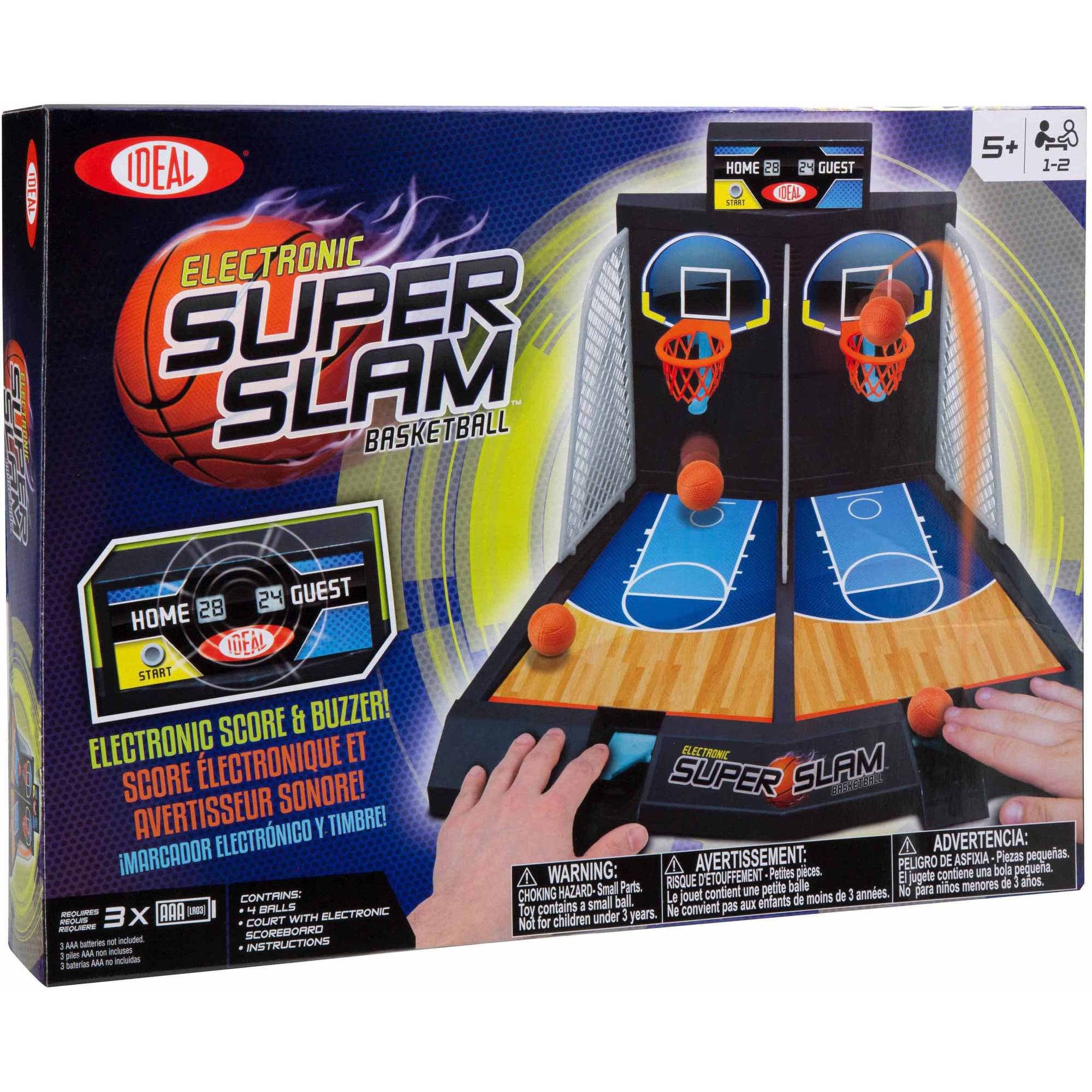 Ideal Electronic Super Slam Basketball Tabletop Game by Generic