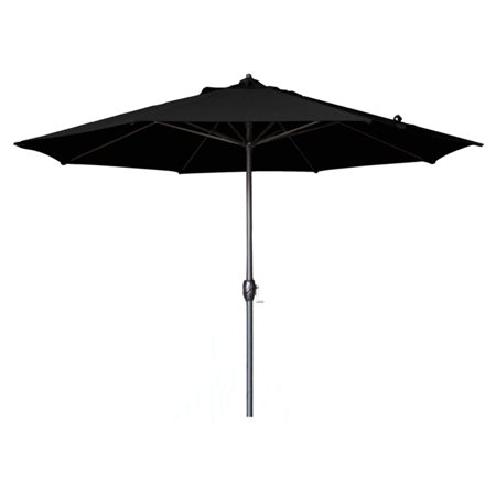 California Umbrella 9 ft. Aluminum Auto Tilt Olefin Patio Umbrella