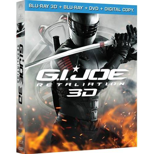G.I. Joe: Retaliation (3D Blu-ray + Blu-ray + DVD + Digital Copy) (With INSTAWATCH)