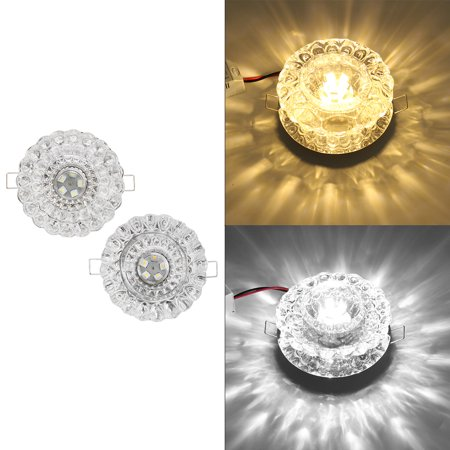 5W Crystal LED Ceiling Light Fixture Pendant Lamp Chandelier US 5LED Romantic Crystal Lighting AC85-265V 5730SMD
