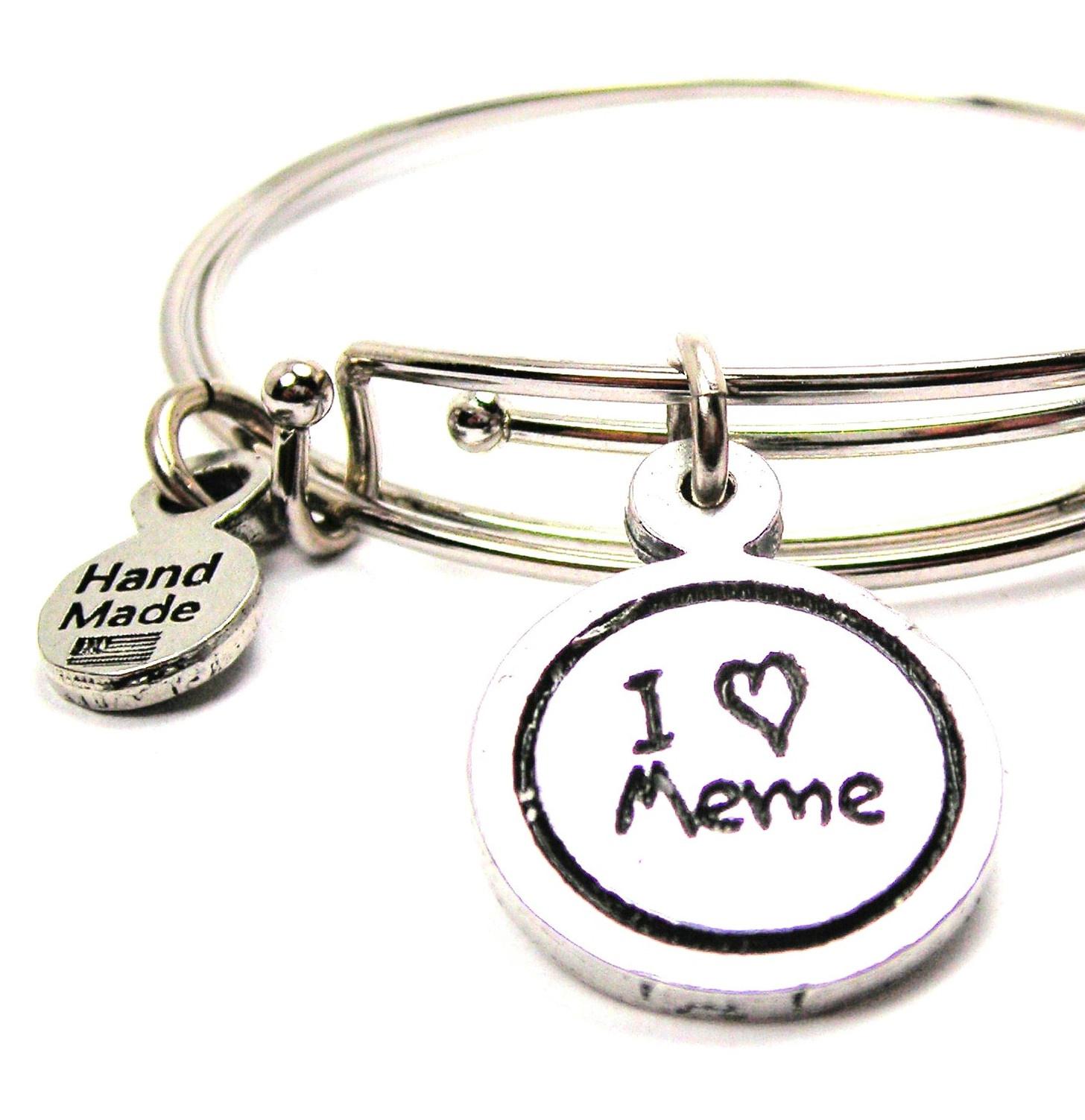 Silver Toned Jewelry Love Yourself Motivational Statement Cuff Bracelet