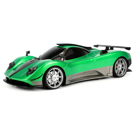 WFC Pagani Zonda R Remote Control RC Sports Car 1:16 Scale RTR Ready To Run w/ Bright LED Headlights (Colors May (Rtr Ready Set)