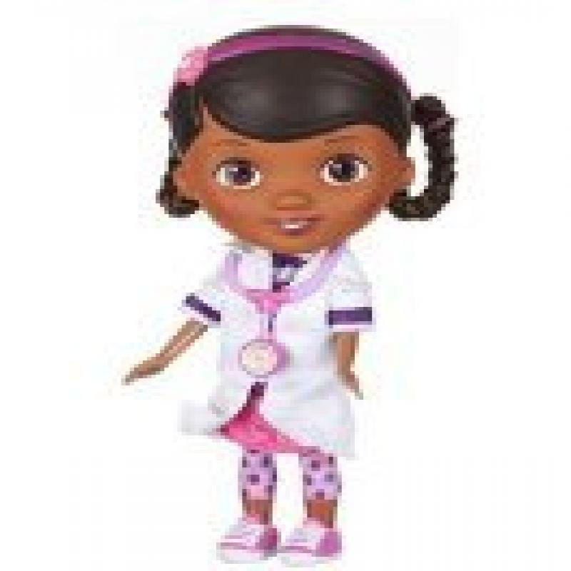 1 X Doc Mcstuffins Doctor Outfit with Stethoscope Exclusive Doll by Disney by