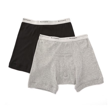 8d1faece5937 Munsingwear - Men's Munsingwear MW07 Comfort Cotton Kangaroo Pouch Boxer  Brief - 2 Pack - Walmart.com