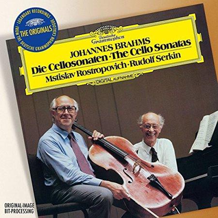 British Cello Sonatas (Rostropovich/Serkin - Originals: Brahms-the Cello Sonatas)