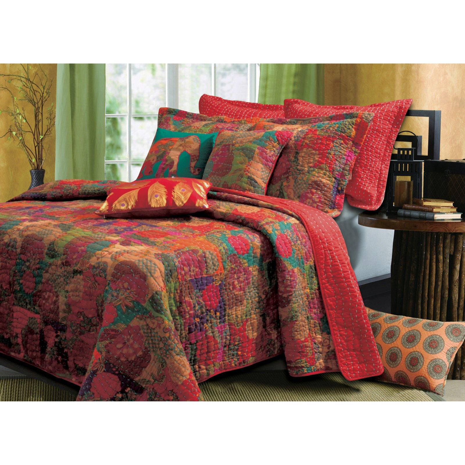 Greenland Home Fashions Jewel Bonus Quilt Set