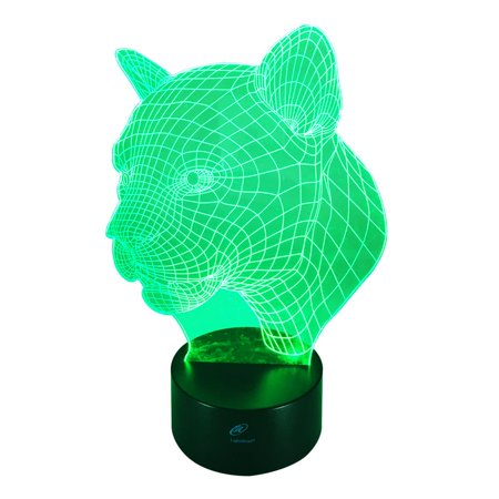 Lightahead Amazing 3d Optical Illusion Touch Night Light Led Desk Lamp Art Piece With 7 Changing