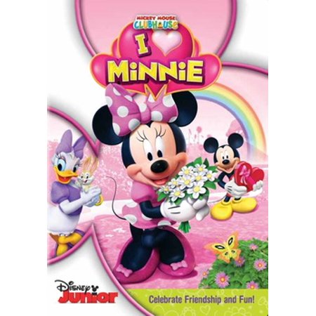 Mickey Mouse Clubhouse: I Heart Minnie (DVD) - Mickey Mouse Old Halloween Movie