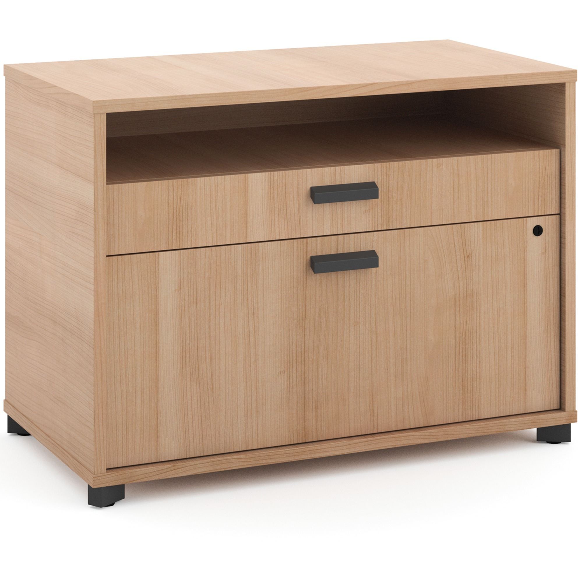 Basyx by HON, BSXMG30FDWHA1, Manage Series Wheat Office Furniture Collection, 1 Each