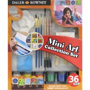 Simply Mini Art Collection Set with 36 Pieces