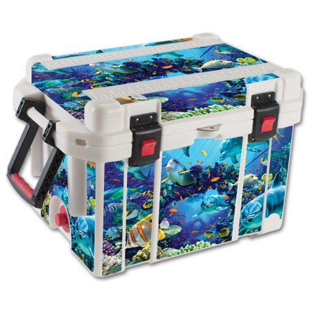 MightySkins Skin For Pelican 35 qt Cooler | Protective, Durable, and Unique Vinyl Decal wrap cover | Easy To Apply, Remove, and Change Styles | Made in the USA