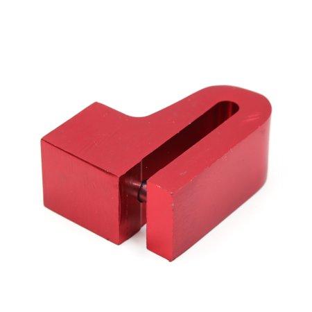 Alliage aluminium rouge Vol anti blocage frein à disque Support touches pour vélo - image 1 de 2