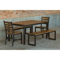 Elan Furniture Loft 5 Piece Bench Dining Set