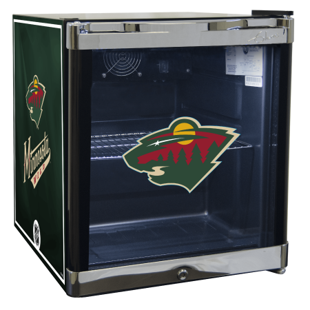 NHL Refrigerated Beverage Center 1.8 cu ft- Minnesota Wild by