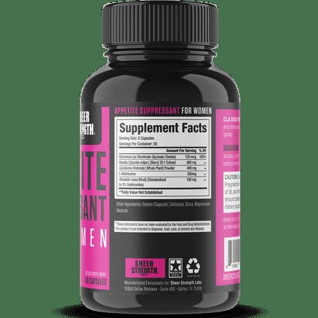 Best Sheer Appetite Suppressant For Women - Metabolism Booster - 60 Capsules deal