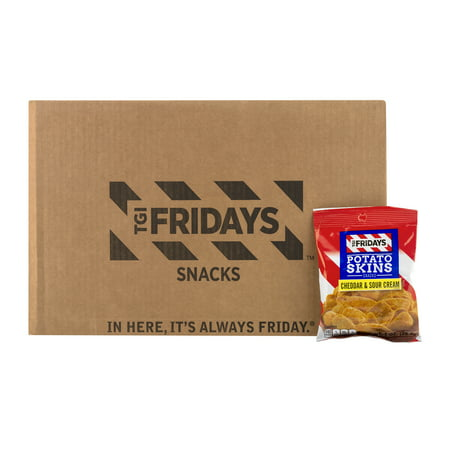 Cream Potato - TGI Fridays Cheddar & Sour Cream Potato Skins, 72 Ct