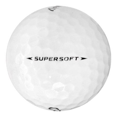 Callaway Supersoft - Near Mint (AAAA) Grade - Recycled (Used) Golf Balls - 50 Pack