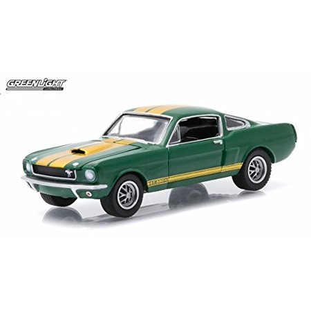 GL Muscle 1966 Shelby GT-350H (Ivy Green) Series 14 2015 Greenlight Collectibles Limited Edition 1:64 Scale Die-Cast Vehicle & Collector Trading Card - image 2 of 3